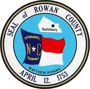Seal of Rowan County, North Carolina