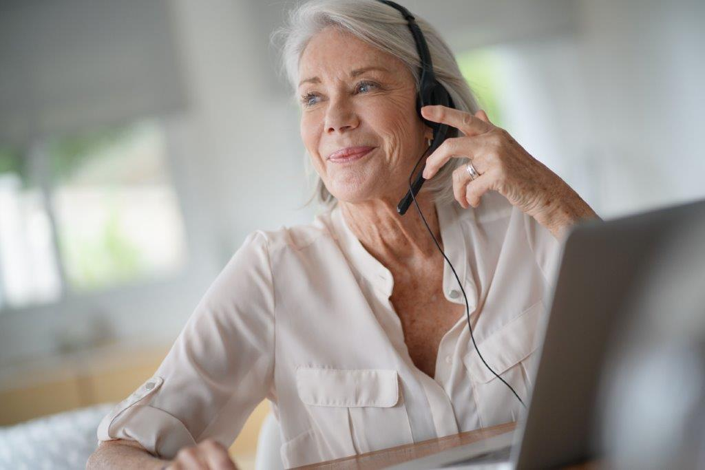 Mature work from home agent