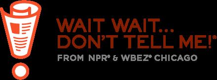 The logo of National Public Radio's Wait Wait....